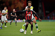 Jermain Defoe (18) of AFC Bournemouth during the EFL Cup 4th round match between Bournemouth and Norwich City at the Vitality Stadium, Bournemouth, England on 30 October 2018.