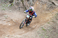 Uci Mountain bike world cup DOWNHILL JUNIORES IN AZIONE REVELLI LORIS, VAL DI SOLE 22 AGOSTO 2015 © foto Daniele Mosna