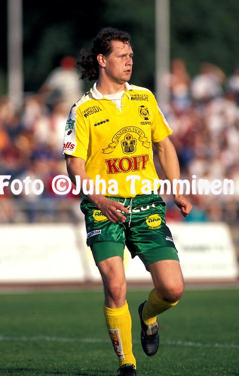25.08.1996, Tampere, Finland..Veikkausliiga / Finnish League.Kimmo Kuula - FC Ilves.©Juha Tamminen