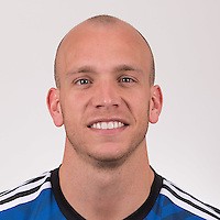 Feb 16, 2015; San Jose Earthquakes player Mark Sherrod poses for a photo.