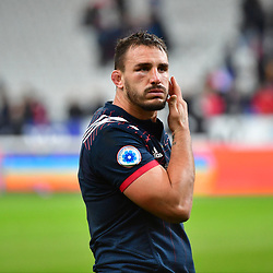 Disappointment for Louis Picamoles of France as his side loses the test match between France and South Africa at Stade de France on November 18, 2017 in Paris, France. (Photo by Dave Winter/Icon Sport)
