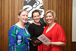 19/08/2015<br /> Pictured at the opening night of 'The Bog of Cats' by Marina Carr at The Abbey Theatre were (L-R) Georgina Neal, Ciara Dunbar and Oonagh Desire.