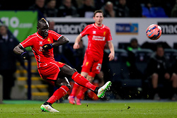 Liverpool's Mamadou Sakho in action - Photo mandatory by-line: Matt McNulty/JMP - Mobile: 07966 386802 - 04/02/2015 - SPORT - Football - Bolton - Macron Stadium - Bolton Wanderers v Liverpool - FA Cup - Fourth Round