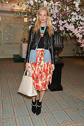 POPPY DELEVINGNE at the launch of Mrs Alice in Her Palace - a fashion retail website, held at Fortnum & Mason, Piccadilly, London on 27th March 2014.