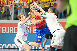 Dujshebaev Alex of Spain during handball match between National teams of Macedonia and Spain on Day 4 in Main Round of Men's EHF EURO 2018, on January 21, 2018 in Arena Varazdin, Varazdin, Croatia. Photo by Mario Horvat / Sportida