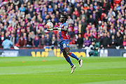 Crystal Palace's Pape N'Diaye Souaré controls the ball during the The FA Cup match between Crystal Palace and Watford at Wembley Stadium, London, England on 24 April 2016. Photo by Shane Healey.