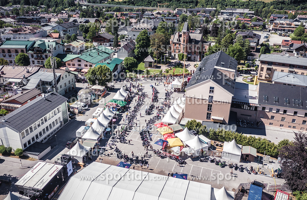28.06.2019, Schladming, AUT, Rock the Roof 2019, im Bild Uebersicht // General View during the Rock the Roof Biker Meeting in Schladming, Austria on 2019/06/28. EXPA Pictures © 2019, PhotoCredit: EXPA/ JFK