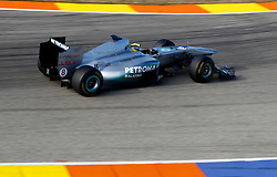 Motorsports / Formula 1: World Championship 2011, Test Valencia, Niko Rosberg ( GER, Mercedes GP )