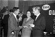 23/05/1963<br /> 05/23/1963<br /> 23 May 1963<br /> Esso Staff Golf Outing at Woodbrook Golf Club, Co. Dublin. Mrs J. Donovan, wife of Esso Director, John Donovan, centre.