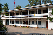 Image of a school, Luang Prabang, Laos.