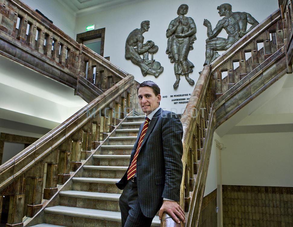 Patrick Grasso, directeur van Porceleyne Fles in Delft, The Netherlands on 30 September, 2008.  (Photo by Michel de Groot)