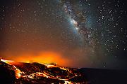 Lava under the stars