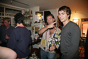 Mat and Alex Collishaw, Pinkietessa's A-Z of London curated by James Birch. Trolley Gallery. Redchurch St. London E2. 11 September 2007. -DO NOT ARCHIVE-© Copyright Photograph by Dafydd Jones. 248 Clapham Rd. London SW9 0PZ. Tel 0207 820 0771. www.dafjones.com.