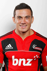 Sonny Bill Williams. Crusaders Headshots. Investec Super Rugby, Rugby Park, Christchurch. Thursday 3 Febuary 2011 . Photo: Simon Watts/photosport.co.nz