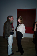 LEANDER MCCORMICK-GOODHAT; EMMA MCCORMICK-GOODHAT, Mark Rothko private view. Tate Modern. 24 September 2008 *** Local Caption *** -DO NOT ARCHIVE-© Copyright Photograph by Dafydd Jones. 248 Clapham Rd. London SW9 0PZ. Tel 0207 820 0771. www.dafjones.com.