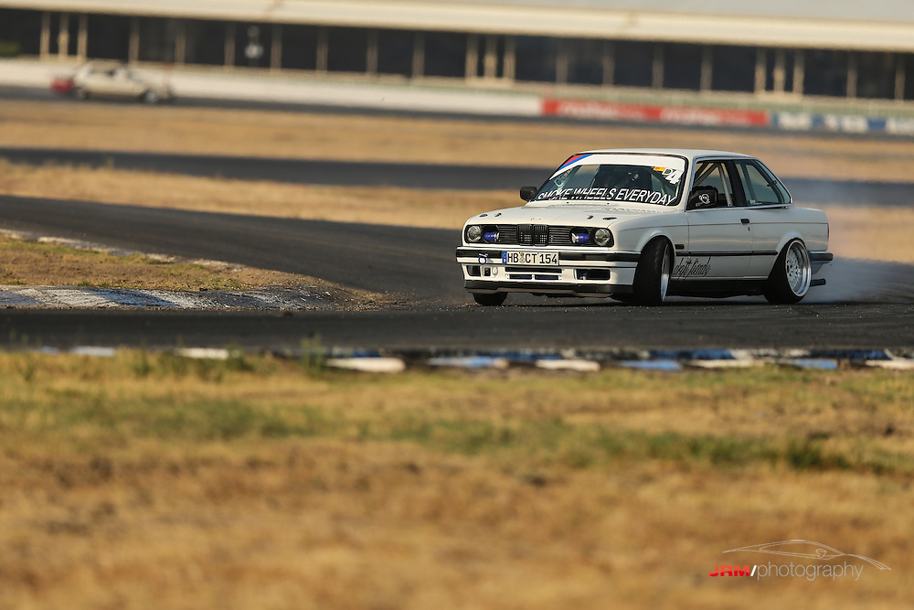 Denis in his RB30e powered E30 BMW