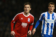Birmingham City midfielder Craig Gardner (12) during the EFL Sky Bet Championship match between Brighton and Hove Albion and Birmingham City at the American Express Community Stadium, Brighton and Hove, England on 4 April 2017. Photo by Bennett Dean.