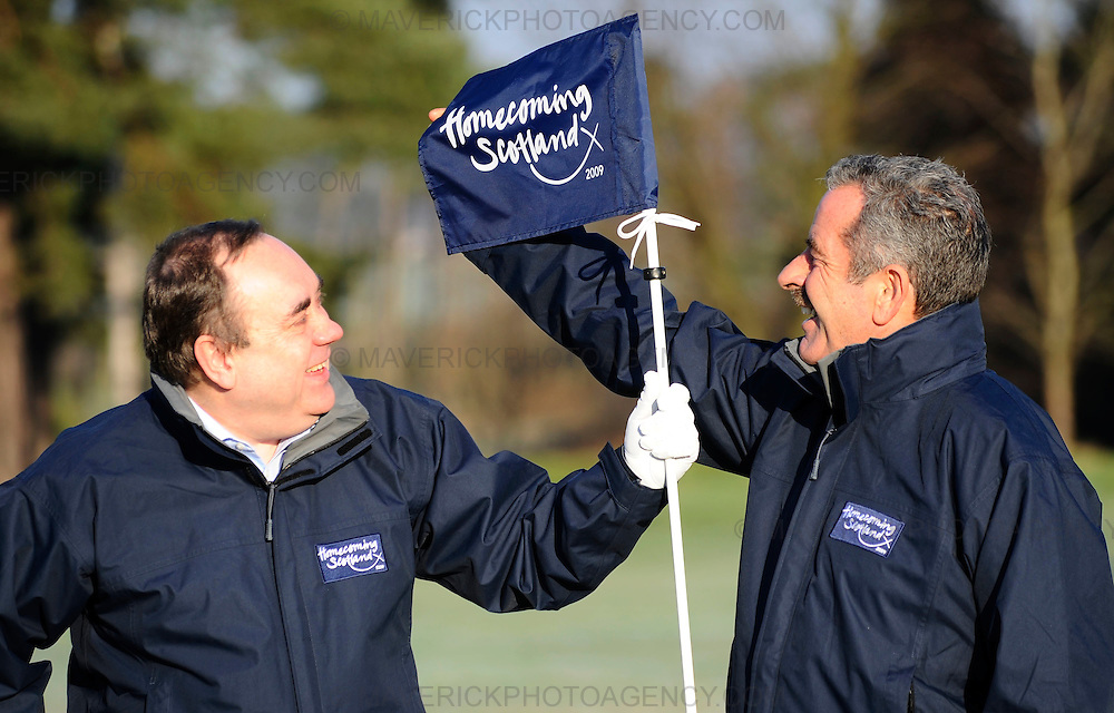 First Minister Alex Salmond and Scottish Golf star Sam Torrance today issued a call to global golf fans to visit the Home of Golf this year and urged more golf clubs across the country to get involved.  On a visit to Dalmahoy golf course just outside Edinburgh the First Minister said that the initial campaign has the potential to attract more than 8000 visitors to Scotland this year.