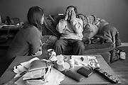 Soins palliatifs à domicile. Guy Gagnon. 76 ans. Cancer du poumon. Ancien boxeur. Assisté social. Suivi depuis un an et demi.
