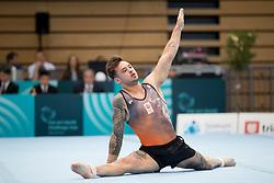 Bart Deurloo of Netherland at Floor Exercise during Finals of Artistic Gymnastics FIG World Challenge Koper 2018, on June 2, 2018 in Arena Bonifika, Koper, Slovenia. Photo by Urban Urbanc / Sportida