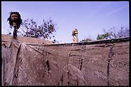 Mbeubeuss garbage dum, Senegal : recyclong // decharge de Mbeubeuss, Senegal : zone de tri pour le recyclage