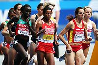 Friidrett , 18. august 2009 , VM Berlin , <br /> Maryam Yusuf Jamal , BRN ,  , Viola Jelagat Kibiwot , KEN , Nuria Fernandez , ESP , 1500 meter