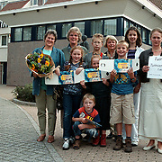 Prijsuitreiking Rabobank Huizen nav Huizerdag 2000