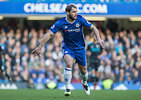 Football - 2016 / 2017 Premier League - Chelsea vs. West Bromwich Albion<br /> <br /> Branislav Ivanovic of Chelsea at Stamford Bridge.<br /> <br /> COLORSPORT/DANIEL BEARHAM