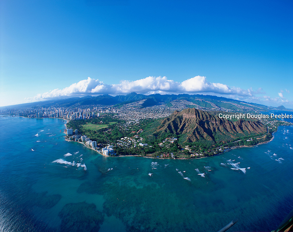 Diamond Head, Honolulu, Oahu, Hawaii, USA<br />