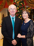 Brendan Carroll  and Carmel N&iacute; Fhlatharta at the Gorta Self Help Africa Annual Ball at the Galway Bay Hotel, Salthill Galway.<br /> Photo:Andrew Downes, xposure.