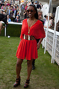 BEVERLEY KNIGHT; ,  , Glorious Goodwood. Ladies Day. 28 July 2011. <br /> <br />  , -DO NOT ARCHIVE-© Copyright Photograph by Dafydd Jones. 248 Clapham Rd. London SW9 0PZ. Tel 0207 820 0771. www.dafjones.com.