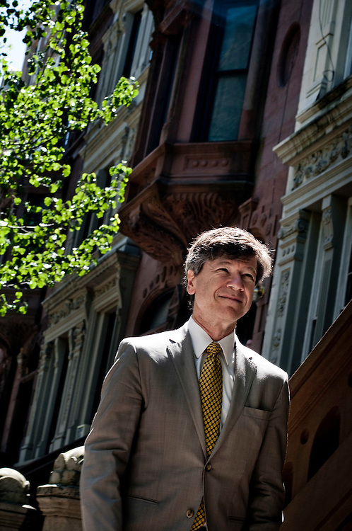 Professor Jeffrey Sachs, The Earth Institute, Columbia University photographed at his home on the Upper West side in New York City...Photographer: Chris Maluszynski /MOMENT