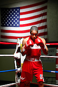 6/24/11 2:29:57 PM -- Colorado Springs, CO. -- A portrait of U.S. Olympic lightweight boxer Queen Underwood, 27, of Seattle, Wash. who will be competing for her fifth title. She began boxing in 2003 and was the 2009 Continental Champion and the 2010 USA Boxing National Champion. She is considered a likely favorite to medal at the 2012 Summer Olympics in London as women's boxing makes its debut as an Olympic sport. -- ...Photo by Marc Piscotty, Freelance.