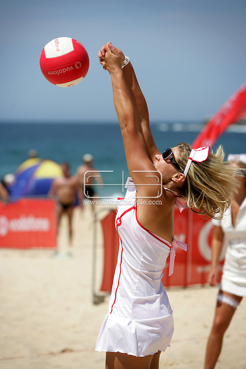 24th February 2007. Sydney, NSW. The Slam Fest Volley Ball contest on Coogee Beach. The massive fancy dress volleyball tournament attracted over a thousand entries. PHOTO © JOHN CHAPPLE. ..PHOTO © JOHN CHAPPLE. .john@chapple.biz.www.chapple.biz..