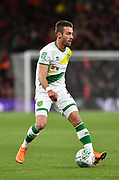 Norwich City defender Ivo Pinto (2)  during the EFL Cup 4th round match between Bournemouth and Norwich City at the Vitality Stadium, Bournemouth, England on 30 October 2018.