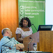 Baroness Doreen Lawrence of Clarendon  speaking at the Howard League for Penal reform's Community Awards 2015 The Kings Fund, London, UK. All use must be credited © prisonimage.org