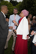 NICK LAIRD, ZADIE SMITH, The Serpentine Party pcelebrating the 2019 Serpentine Pavilion created by Junya Ishigami, Presented by the Serpentine Gallery and Chanel,  25 June 2019
