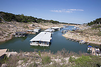 Closed Boat Ramp, Lake Travis, TX
