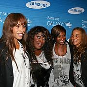 NLD/Amsterdam/20110823 - Presentatie Samsung Galaxy Tab, Glennis Grace, Berget Lewis, Edsilia Rombley en ................