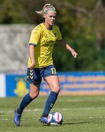 FODBOLD: Julie Tavlo (Brøndby IF) under kampen i 3F Ligaen mellem Brøndby IF og Fortuna Hjørring den 11. maj 2019 på Brøndby Stadion. Foto: Claus Birch