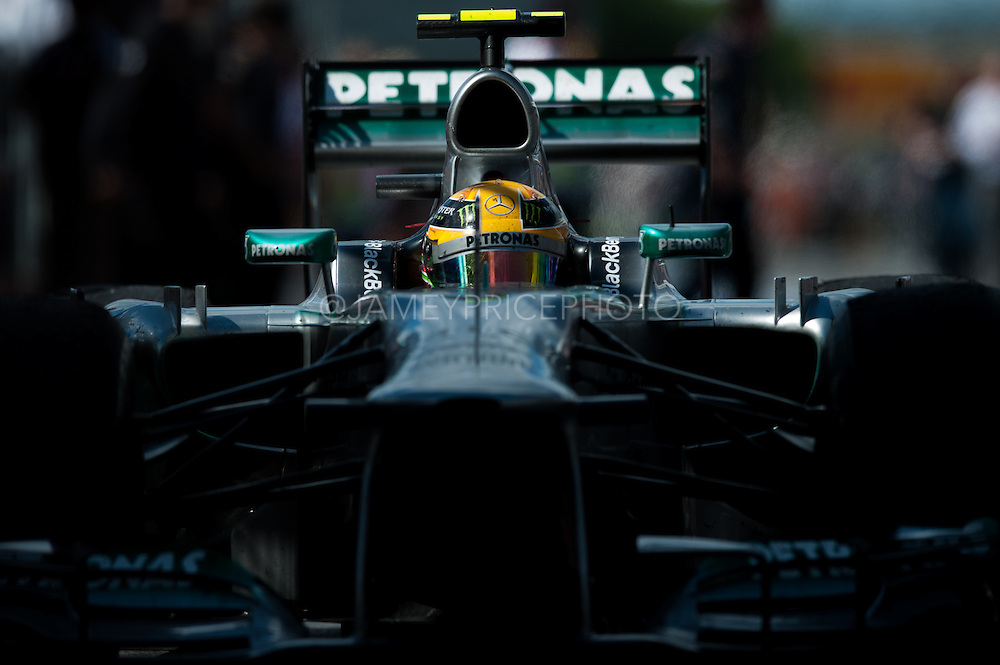 June 7-9, 2013 : Canadian Grand Prix. Lewis Hamilton, Mercedes