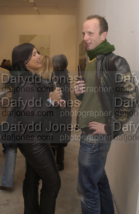 Johnnie shand Kydd. Peter Doig opening. Victoria Miro. London. 13 April 2002. © Copyright Photograph by Dafydd Jones 66 Stockwell Park Rd. London SW9 0DA Tel 020 7733 0108 www.dafjones.com