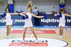 Cheerleaders during friendly basketball match between National teams of Slovenia and Ukraine at day 3 of Adecco Cup 2014, on July 26, 2014 in Rogaska Slatina, Slovenia. Photo by Vid Ponikvar / Sportida.com