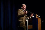 Dietzenbach   09 October 2015<br /> <br /> Am Freitag (09.10.2015) f&uuml;hrte die Partei &quot;Alternative f&uuml;r Deutschland&quot; (AfD) im B&uuml;rgerhaus in der hessischen Kleinstadt Dietzenbach eine Veranstaltung unter dem Motto &quot;Internationale Politik und Asylchaos&quot; durch, Hauptredner war Dr. Alexander Gauland.<br /> Hier: Dr. Alexander Gauland w&auml;hrend seiner Rede.<br /> <br /> &copy;peter-juelich.com<br /> <br /> [No Model Release   No Property Release]