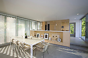 Modern dining area home interior