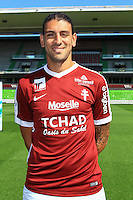 Guido Milan poses for a portrait during the Metz squad photo call for the 2016-2017 Ligue 1 season on September 15, 2016 in Metz, France<br /> Photo : Fred Marvaux / Icon Sport