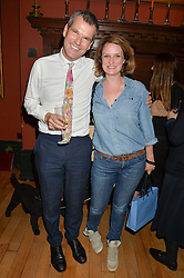 BEN PENTREATH and BRIDIE HALL at a party to celebrate the publication of English Houses by Ben Pentreath held at the Art Worker's Guild, 6 Queen Square, London on 28th September 2016.