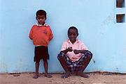 local kids in Andapa, Madagascar