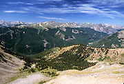 View from Mt. Yale in the Sawatch Range, Colorado