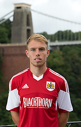 Tom King of Bristol City - Photo mandatory by-line: Kieran McManus/JMP - Tel: Mobile: 07966 386802 31/07/2013 - SPORT - FOOTBALL - Avon Gorge Hotel - Clifton Suspension bridge - Bristol -  Team Photo